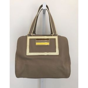 ANYA HINDMARCH COLLECTION TAUPE BAG